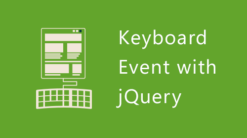 jQuery-keyboard-event